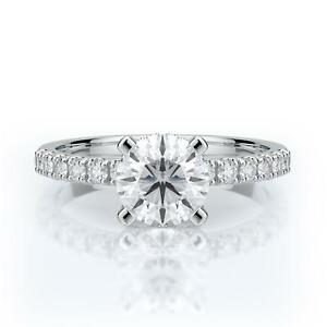 Engagement-Diamond-Ring-Brilliant-Round-Cut-18k-White-Gold-1-5-Ct-E-VS1