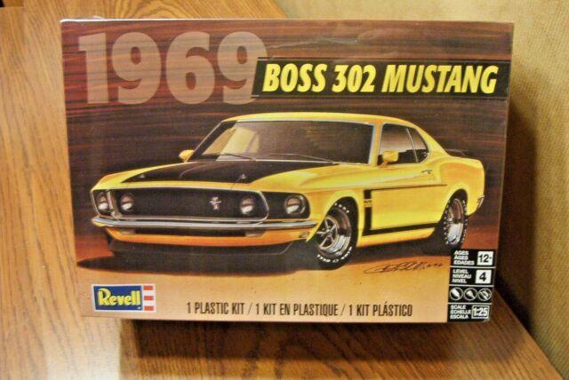 revell 1 25  Buy Revell 1/25 1969 Boss 302 Mustang Plastic Model Kit 85-4313 ...