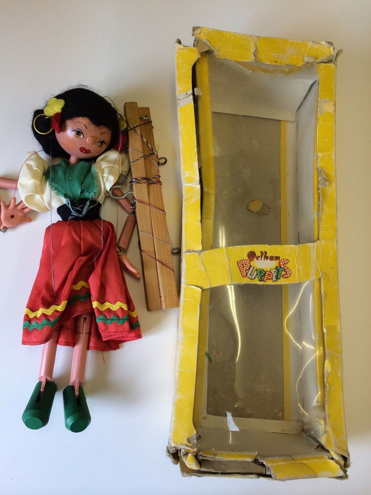 VINTAGE BOXED PELHAM PUPPET GIRL TYPE SM SM9
