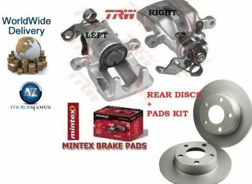 DISCS /& DISC PADS RIGHT BRAKE CALIPER FOR FORD GALAXY 1995-2006 REAR LEFT