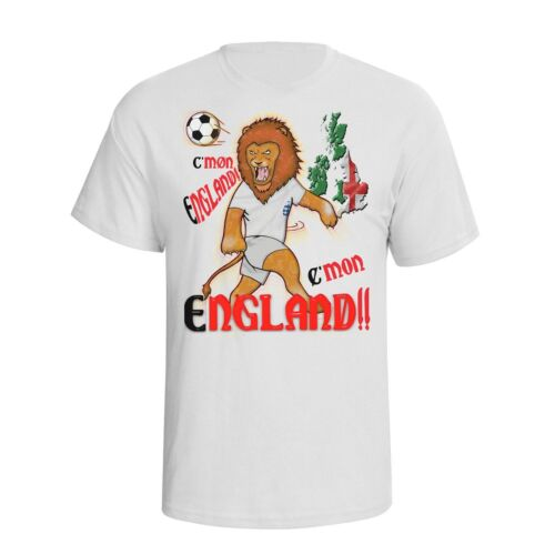 England Womens World Cup 2019 Football Mascot T-Shirt Choice Of MENS LADIES KIDS