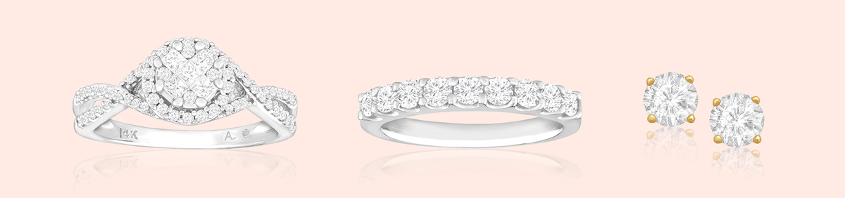 Shop Event Certified Diamonds Shine Brightest  Confidently rock diamond jewelry.