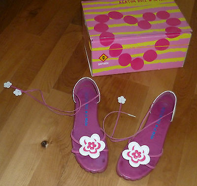 Agatha Ruiz De La Prada Sandale Römer Fuß Abdruck Gr. 36 lust auf Sommer