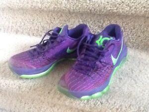 promo code 5746b 32a93 Image is loading Nike-KD-8-Purple-Green-Size-9-Mens-