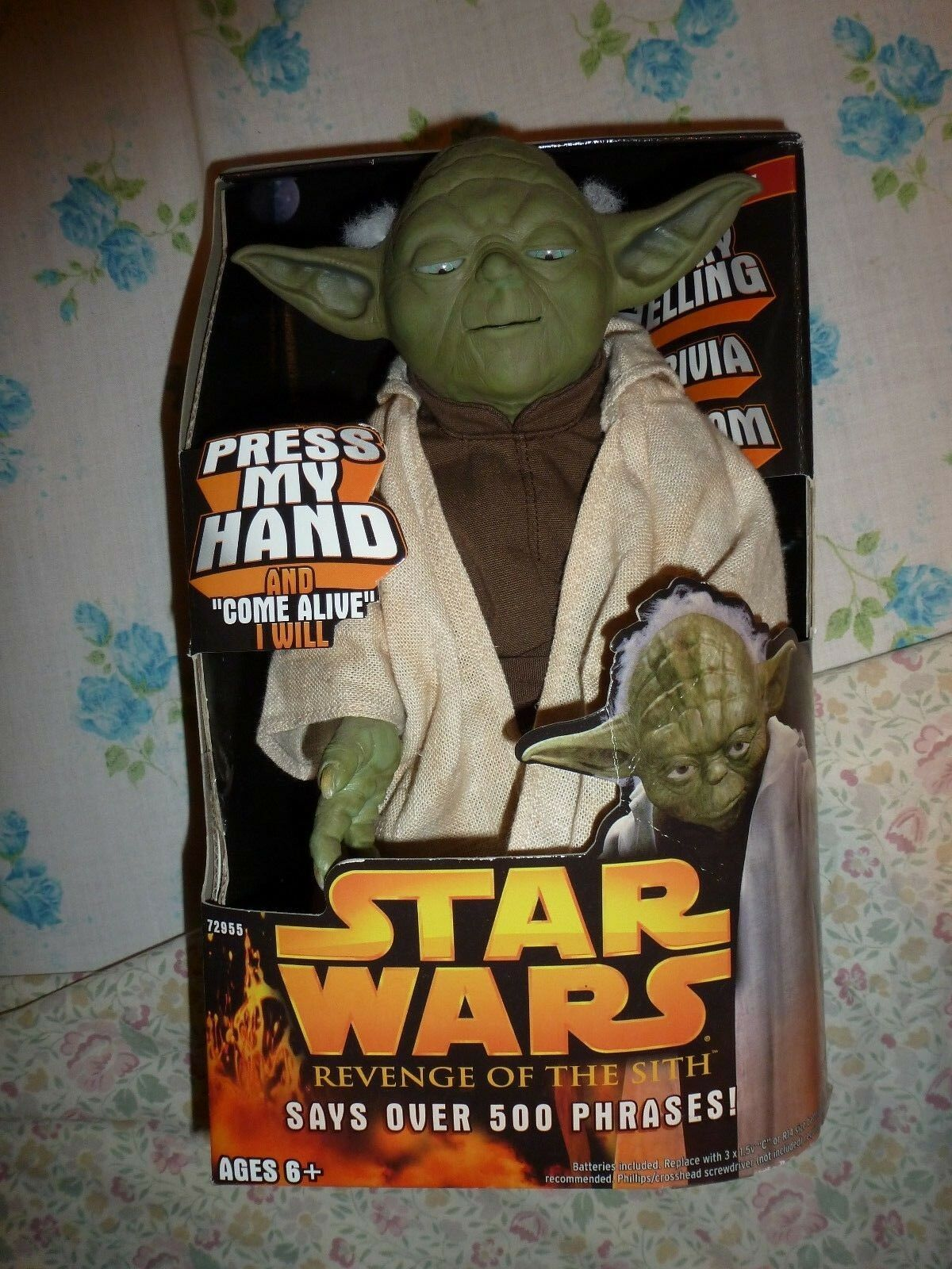 STAR WARS REVENGE OF THE SITH INTERACTIVE STORYING TELLING JEDI MASTER YODA