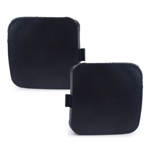 2pc Left Right Front Bumper Tow Hook Eye Cover Cap fit for Toyota RAV4 2009-2012