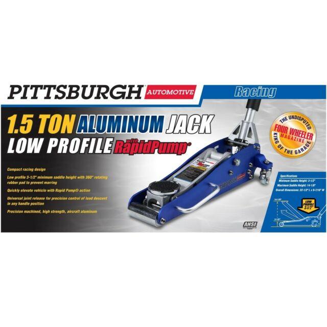 1 5 Ton 3000 Lb Aluminum Racing Car Auto Floor Jack Low Profile Rapid Pump Lift For Sale Online Ebay