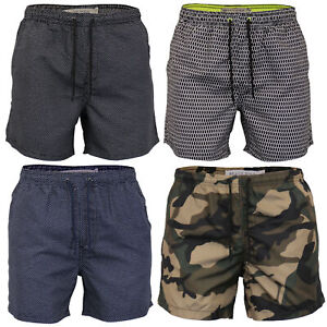 Mens-Swimming-Shorts-Brave-Soul-Camo-Military-Trunks-Mesh-Lined-Beach-Summer-New