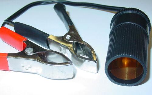 Adapterkabel 12V 8A Batterieklemme auf Zigarettenanzünder Buchse AS78