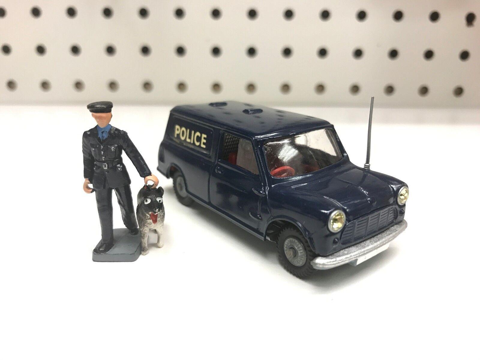 Corgi Toys Diecast Austin Police Mini Van Policeman