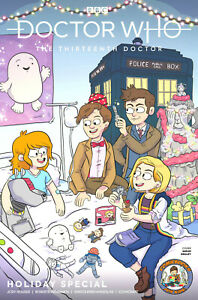 NYCC Doctor Who Holiday Special ComicBooks For Kids! variant (CB4K)    Box Ship