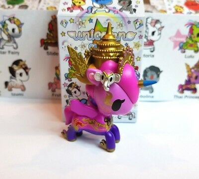 NEUF TOKIDOKI UNICORNO Series 7 Vinyl figurine de collection Thai Princess 3/""