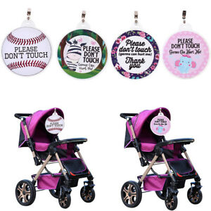 Baby Safety Sign Please Dont Touch For Baby Newborn Stroller Tag Car Seat Sign Shower Gift A Great Variety Of Goods Activity & Gear Strollers Accessories