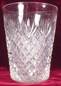 Pineapple-amp-Fan-Crystal-Tumbler-EAPG-Clear-Glass-Antique-A-Beauty