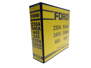 image is loading ford-230a-340a-445-530a-540a-545-tractor-