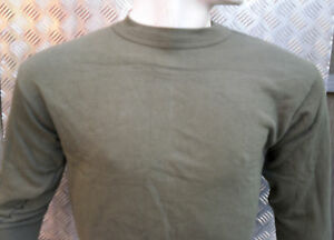 Genuine-German-Army-Green-Thermal-Top-Jumper-Size-Large-NEW