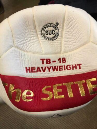 Tachikara TB-18 The Setter Volleyball white red heavyweight
