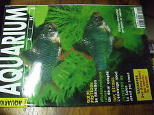 µ? Revue Aquarium Magazine n°148 Zoanthus Eclairage ?? Acanthurus Filtrer Barbus