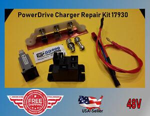 Club Car PowerDrive Battery Charger Repair Kit Golf Cart 48 V #17930