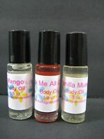 Patchouli Perfume Body Oil Fragrance Oil 1/8 Oz Roll On One Bottle
