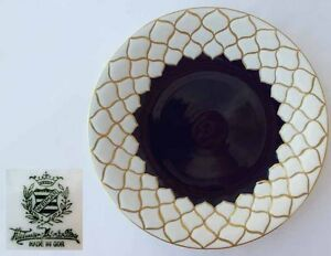 Porzellan Vorlage Teller Servier Platte Kobaltblau Weimar E851