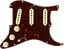 Genuine-Fender-Pre-Wired-Strat-Pickguard-Tex-Mex-SSS-Tortoise-Shell-11-hole thumbnail 2