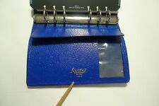 Filofax Leather Planner Amp Inserts Made In Uk Winchester 4clf 78 Royal Blue