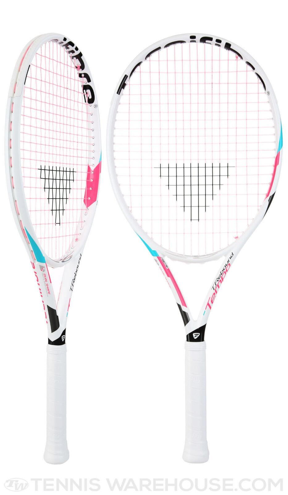 TECNIFIBRE Bambini Racchette da Tennis T-Reboud ritmo ritmo ritmo 23 14 Rebo 239h BIANCO NUOVO! 83176d