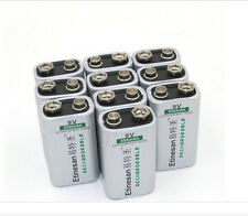 POWERFUL 8pcs/lot ETINESAN 550mAh 9v li-ion lithium Rechargeable 9 Volt Battery