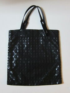 Image Is Loading Issey Miyake Pleats Please Black Bao Bag