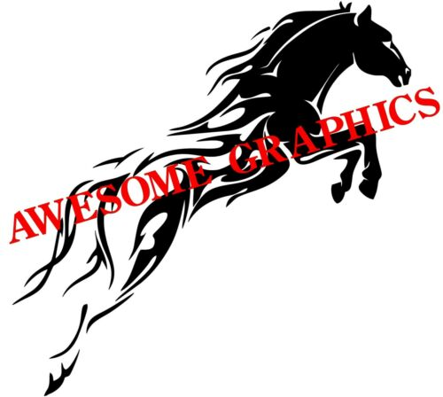 "2 x 15/"" TRIBAL // FLAME #3 VAN CAR DECALS VINYL GRAPHICS STICKER HORSE TRAILER"