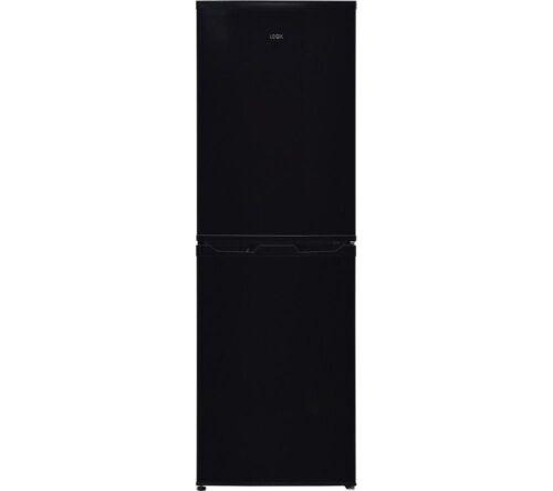 LOGIK LFC50B18 50//50 Fridge Freezer Currys Black