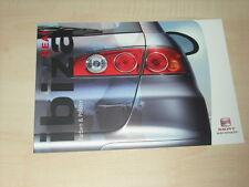 59349) Seat Ibiza Farben & Polster Prospekt 05/2003