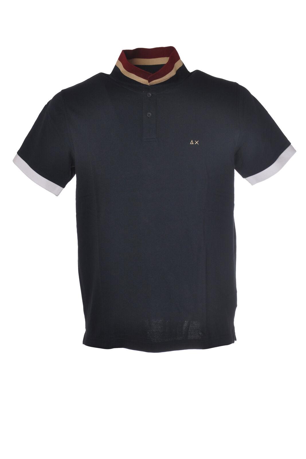 Sun 68 - Topwear-Polo - Man - bluee - 5996605E191102