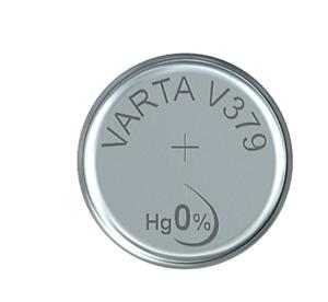5x Varta V 379 Uhrenzelle 1,55 V
