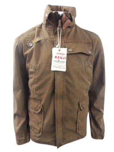 Nouveau Homme Smart Style Vintage Printemps Eté veste 100/% coton
