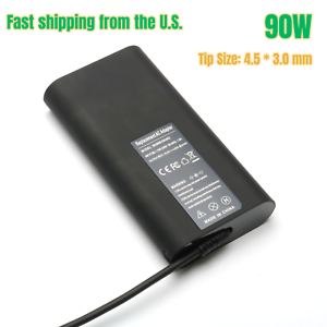 New 90W AC Adapter Charger For Dell Inspiron 11 3000 15 5000 Series 4.5*3.0mm