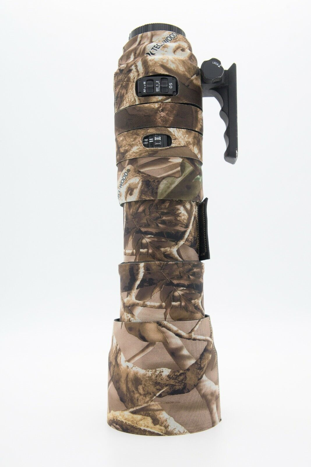 LensCamo Neoprene Camouflage Cover for Sigma 150-500 EX DG HSM (with zoom cover)