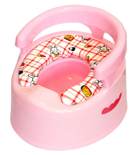 HIGH QUALITY TOILET TRAINERWC TOILET SEAT FOR BABY CHILDREN /& KIDS POTTY PINK