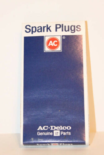 AC Delco Spark Plugs Old Stock 8 Pack R43T  Made in USA NEW
