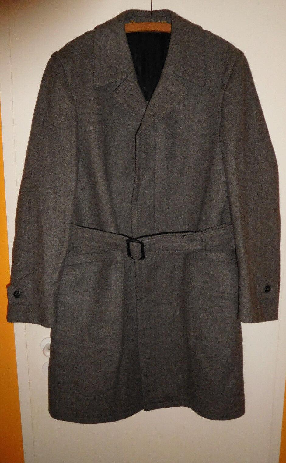 Travel Coat Coat Coat Louisoder -Herrenmantel- Größe 86 -Anthrazit- 100% reine Schurwolle | Erschwinglich  48b033