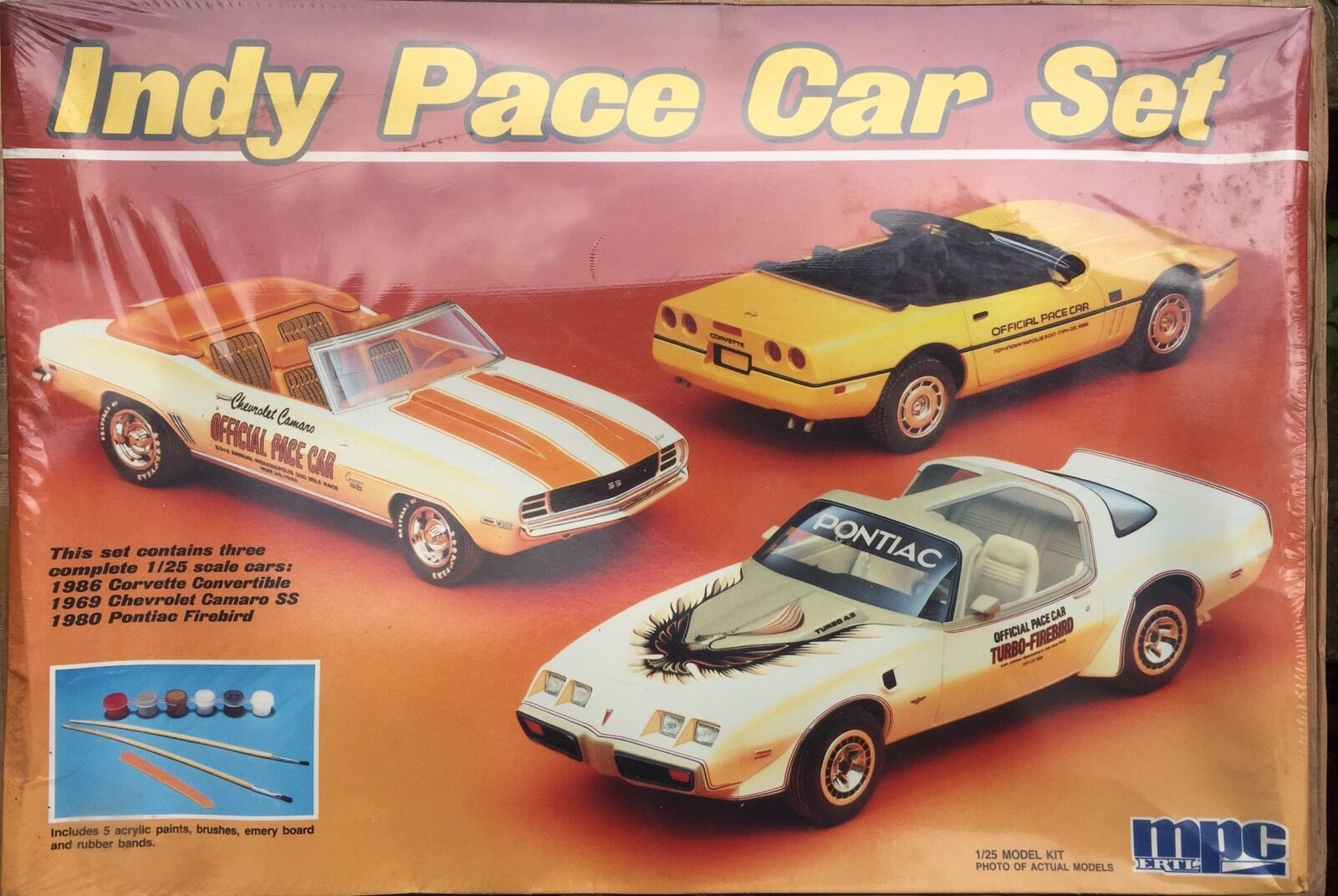ERTL MPC INDY PACE CAR SET Scala 1 25 VINTAGE NEW