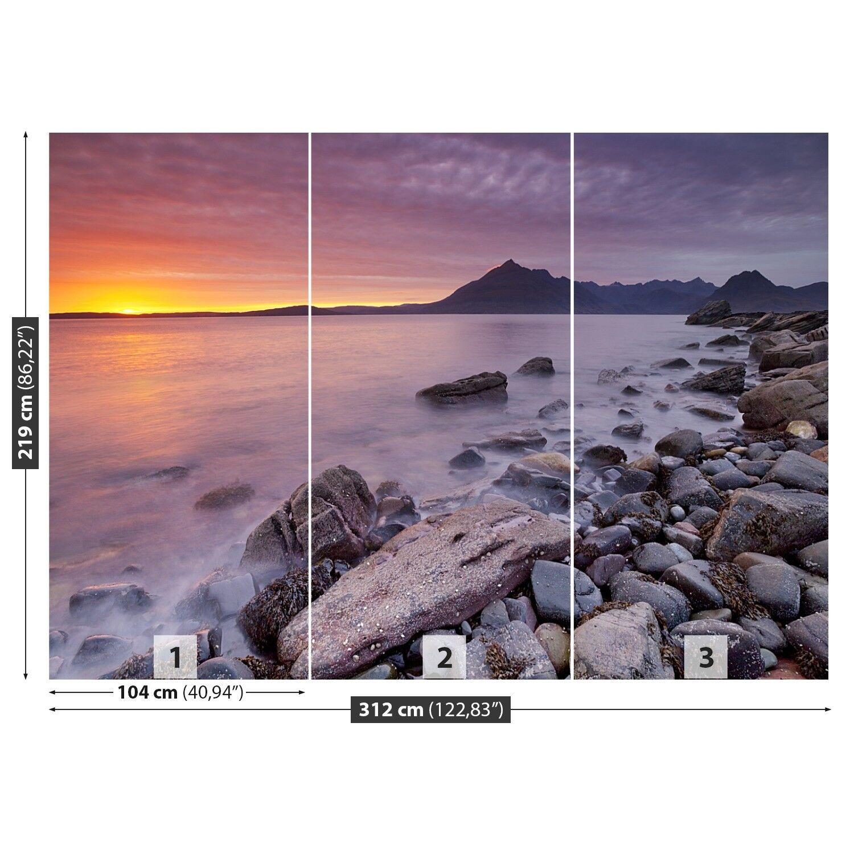 Fototapete Selbstklebend Einfach Einfach Einfach ablösbar Mehrfach klebbar Strand Schottland f5bb79
