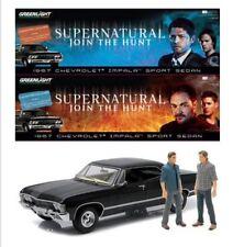 SDCC 2016 Supernatural Exclusive 1:18 Diecast Impala w/Castiel & Crowley LE 500