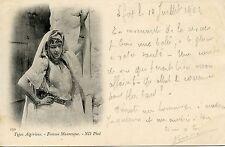 POSTCARD / CARTE POSTALE / ALGERIE / TYPES ALGERIENS  MAURESQUE