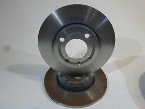 Pair Discs Front Pair Of Disk Front Original Volkswagen Jetta Passat