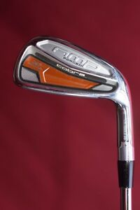 Cobra-Amp-Forged-7-iron-Dynamic-Gold-X100-tour-stiff-steel-5-034-s-2f-demo-ex