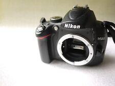 Nikon D5000 12.3MP DSLR Camera Body customised with KatzEye viewfinder boxed