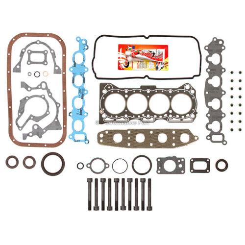 Full Gasket Set Head Bolts for 92-01 Chevrolet Geo Suzuki Esteem 1.6 G16KV