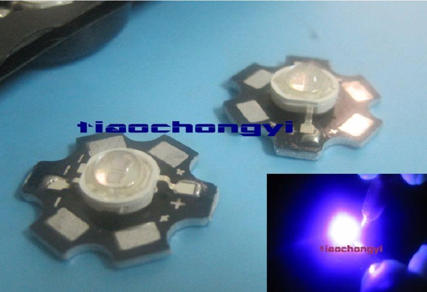 1 5 10 50 un. 5w Alta Potencia Uv Ultrapúrpuraa 365nm - 420nm 1400ma Led Lámpara Light